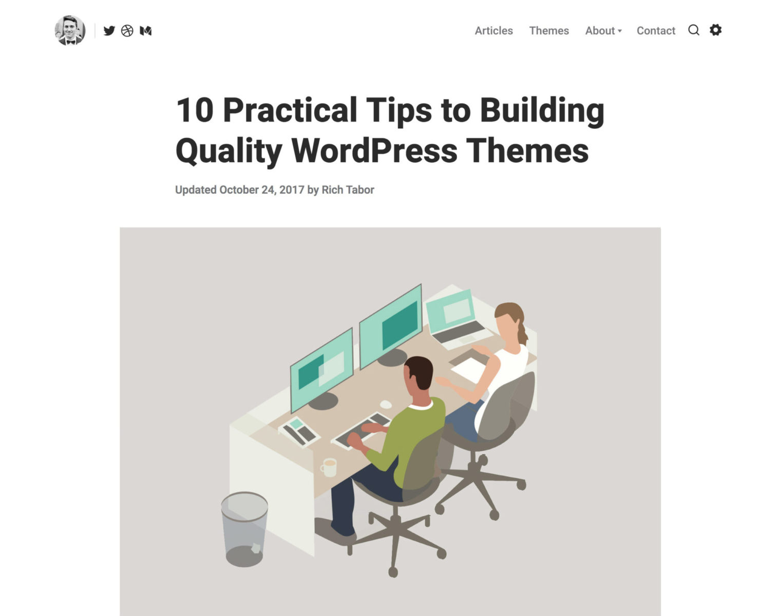 Tips for building themes