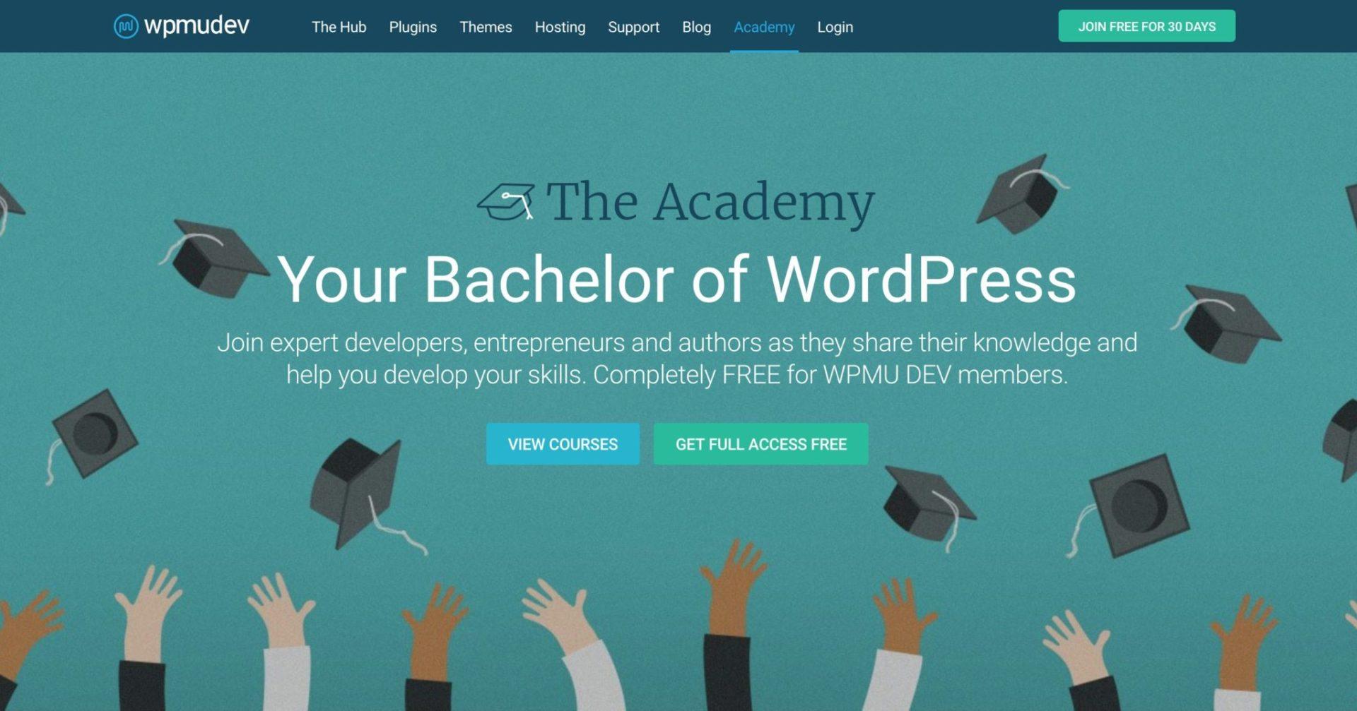 WPMU Dev Academy